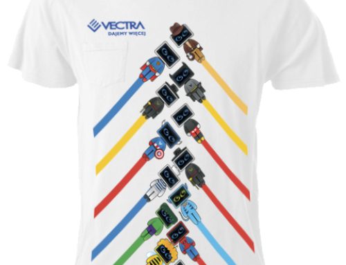 T-shirt Design for Vectra (Client of BBDO)