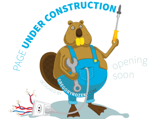 'Page Under Construction' Graphic (Beaver with the Screwdriver and Socket)