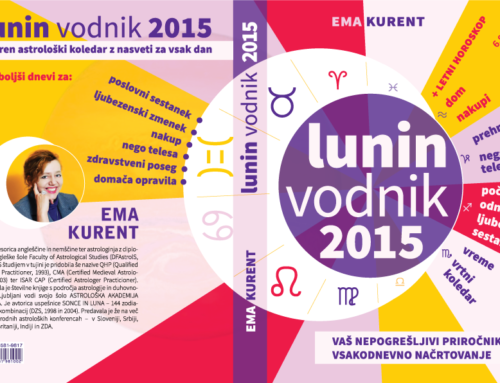 Cover Design for a Slovenian Lunar Calendar (Lunin Vodnik 2015)