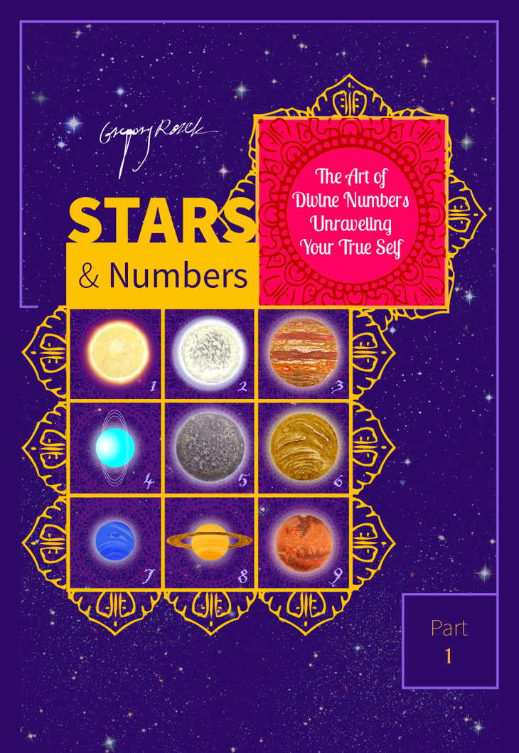 book cover design for Stars & Numbers