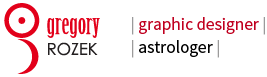 Gregory Rozek – graphic design & astrology Logo